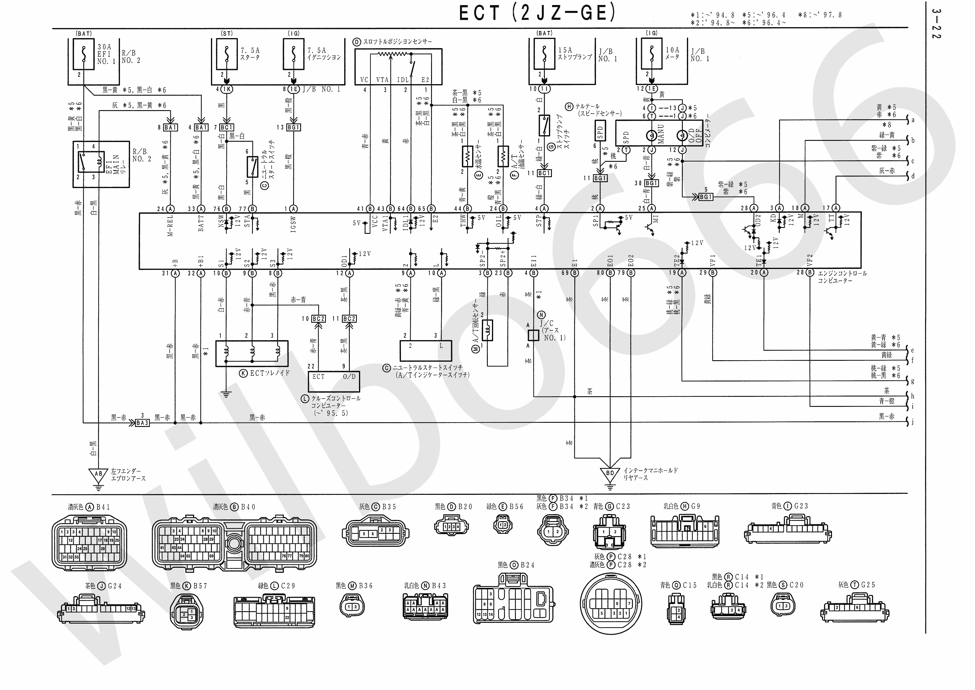JZA80 Electrical Wiring Diagram 6742505 3 22?resize\=665%2C471 aritech cs 250 wiring diagram \u2022 indy500 co Honda Wiring Diagram at bayanpartner.co
