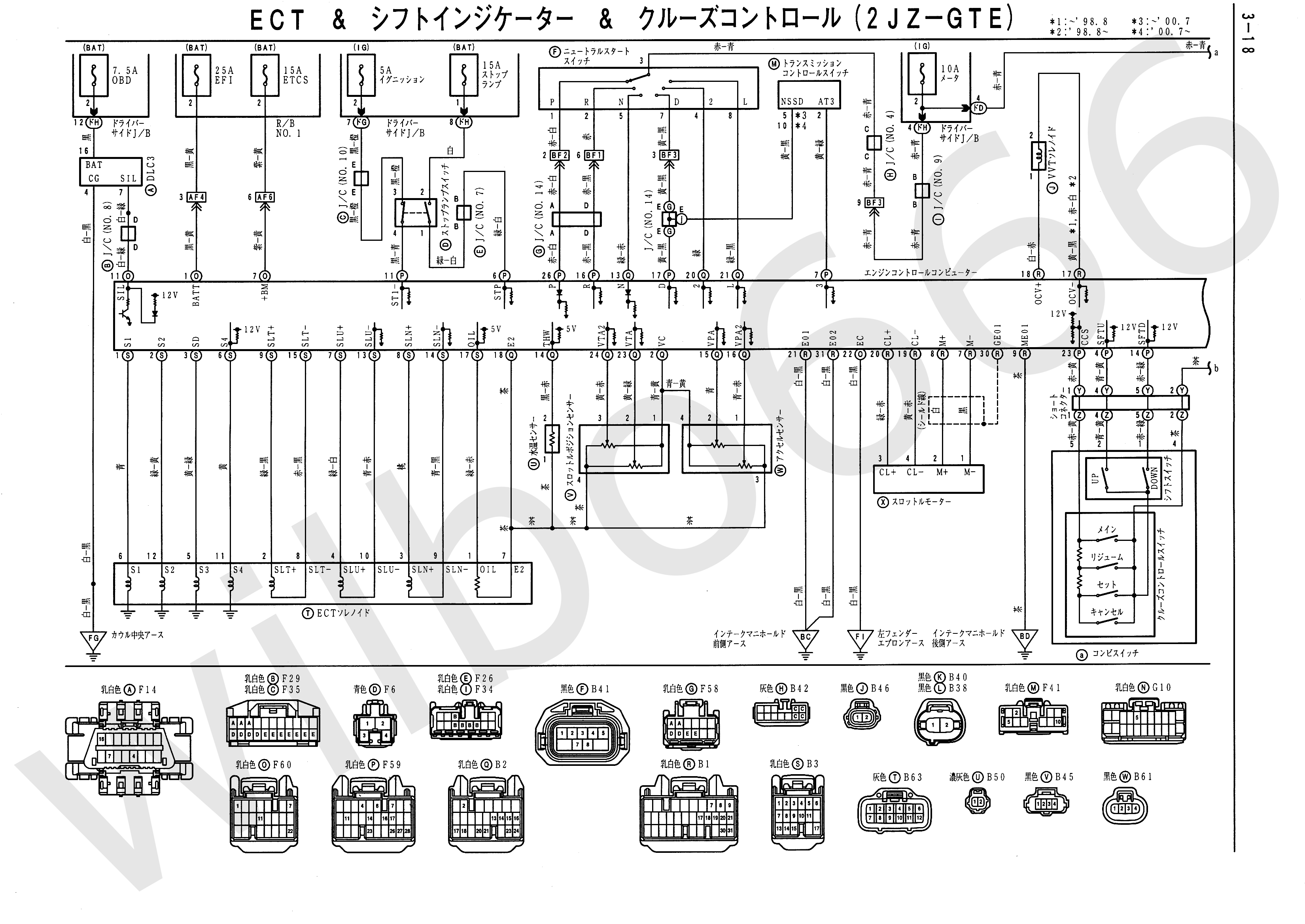 Civic Obd2 Wire Harnes Schematic