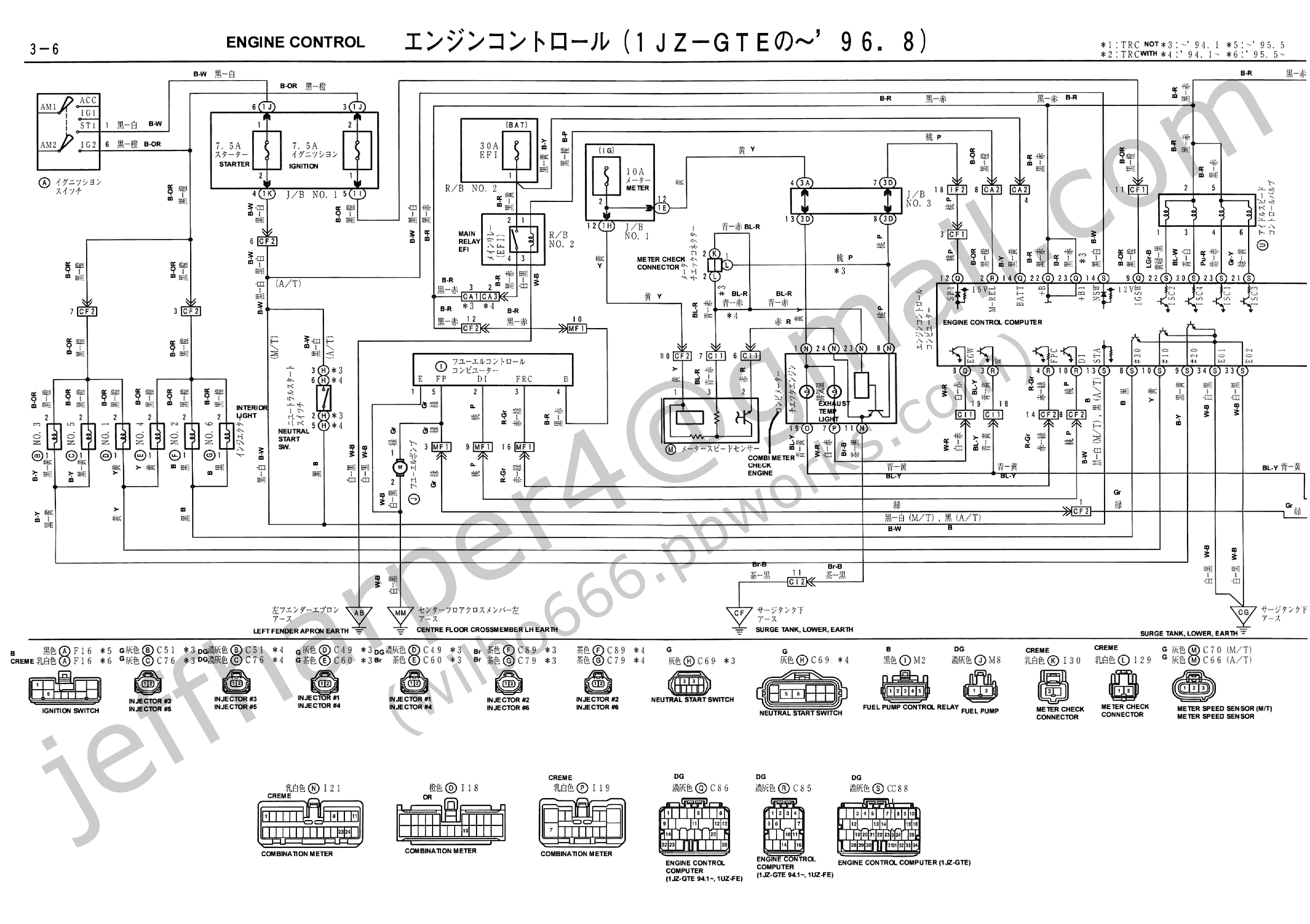 Lexus Gx470 Alternator Diagram