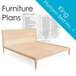 Diy Woodworking Plans Platform Bed No 1 King Size Wilbur Davis Studios