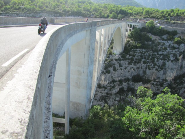 The Verdon Gorge, Provence, France
