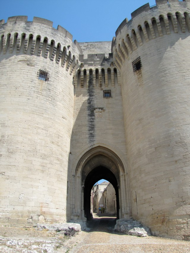 Entrance Gate To The Fort And Abbey, Villeneuve-lès-Avignon, France