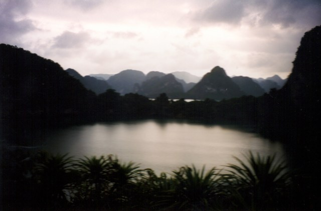 Mountain Lake, Halong Bay, Vietnam