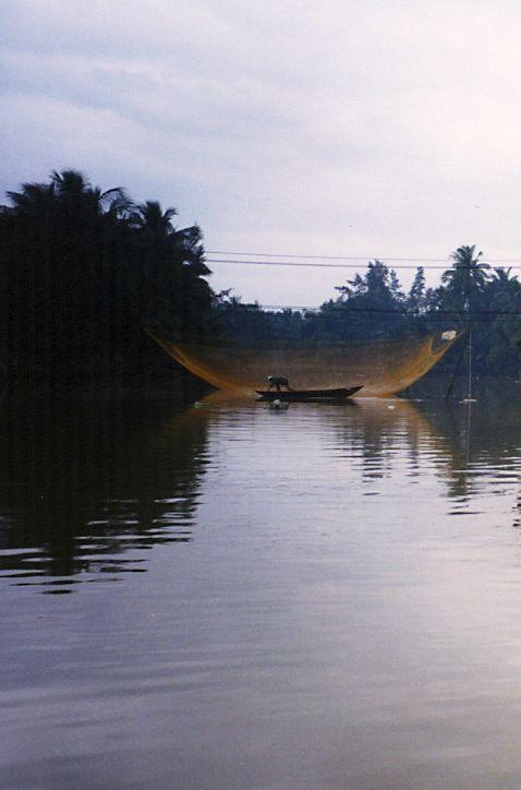 Fisherman, Hoi An, Vietnam