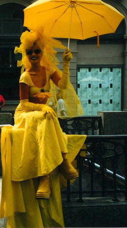 Street Performer, Las Ramblas, Barcelona