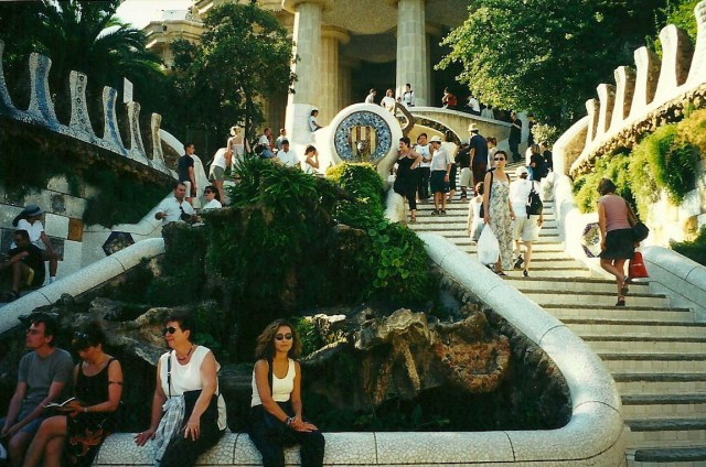Parc Guell Steps, Barcelona