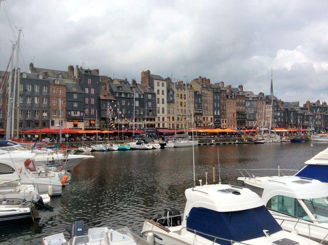Honfleur Harbour, France