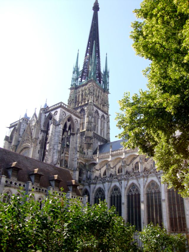 Rouen Cathedral, France. June 2015.