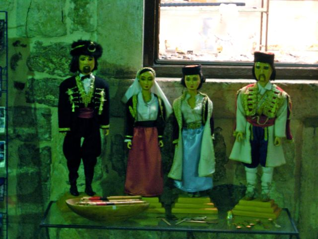 Marionettes for sale in the old town, Kotor, Montenegro