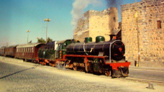 Pilgrim Train, Damascus