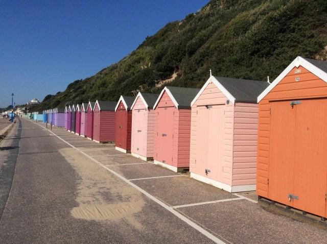 Beach Huts, Bournemouth, UK. September 2015.