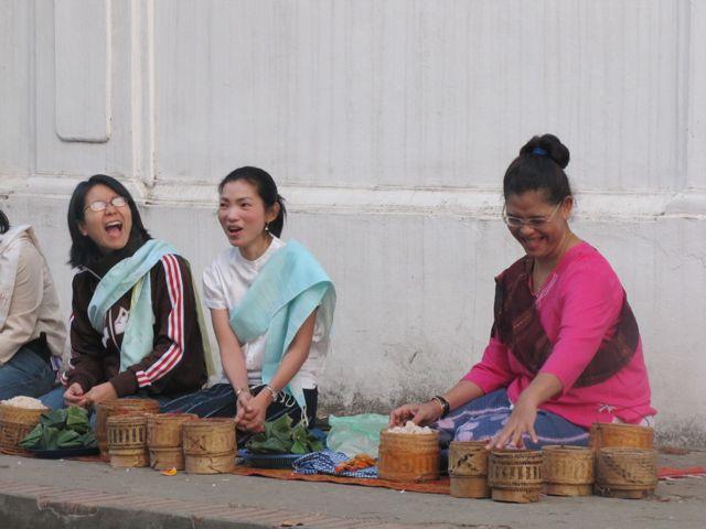 Happy Women, Luang Prabang, Laos