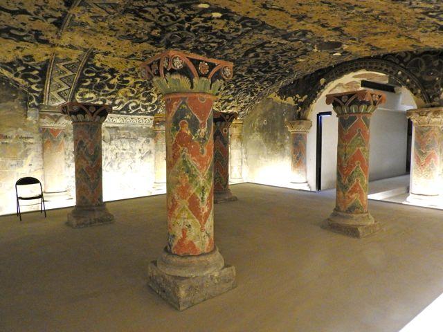 The Crypt, Boulogne, France. November 2015.