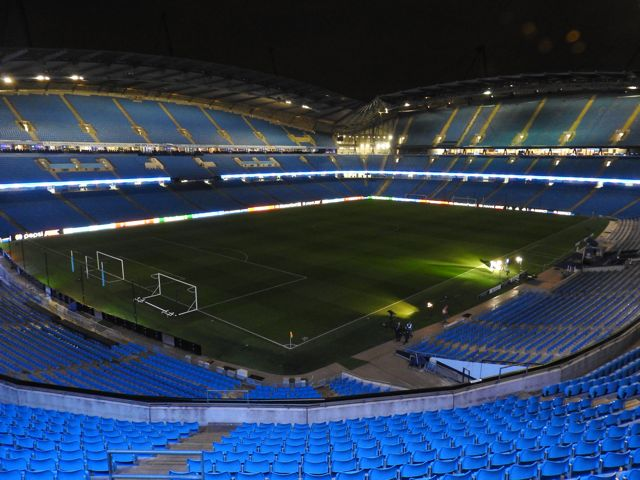 Etihad Stadium Tour Before Borussia Monchengladbach in the Champions League 2015