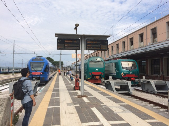 Venice Train Station Platforms