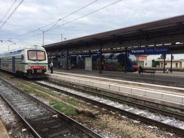 Verona Train Station Platform