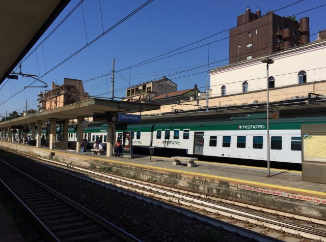 Monza Train Station Platform, Italy