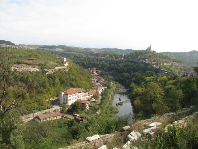 View Of Tsaravets From Veliko Tarnovo, Bulgaria