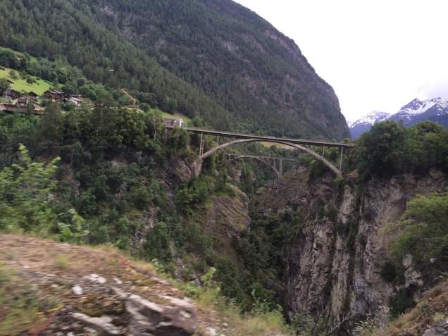 Bridge Near Zermatt
