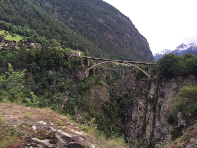 Bridge Near Zermatt