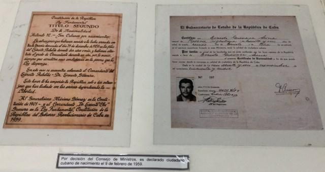 Che Guevara Exhibit, Havana