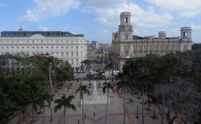 View of Paseo de Prado, Havana