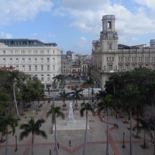 View of Paseo de Prado, Havana