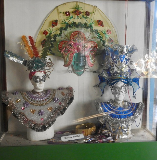 Carnival Museum exhibit, Santiago de Cuba