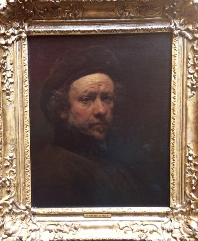 Rembrandt Self Portrait, Scottish national Gallery, Edinburgh