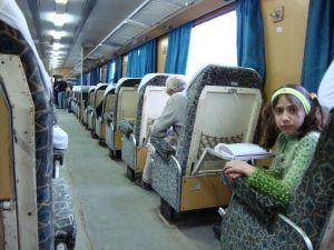 On The Aleppo to Latakia Train, Syria