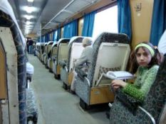 On The Aleppo to Latakia Train, Syria