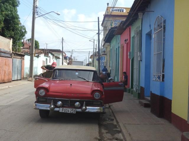 American Classic Car, Trinidad, Cuba