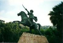 Warrior Statue, Beirut, Lebanon