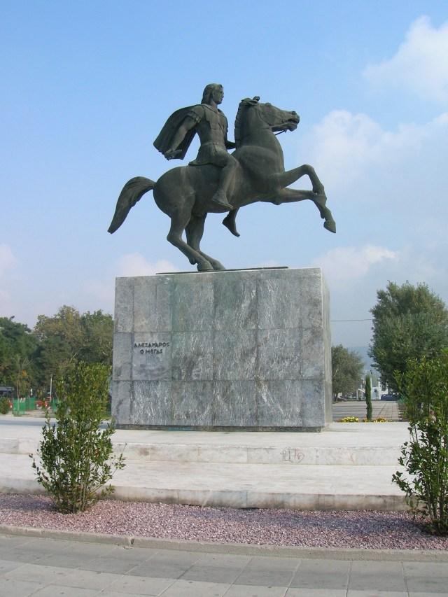 Alexander The Great Statue, Thessalonika