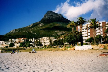 Beach at Camps Bay, Cape Town