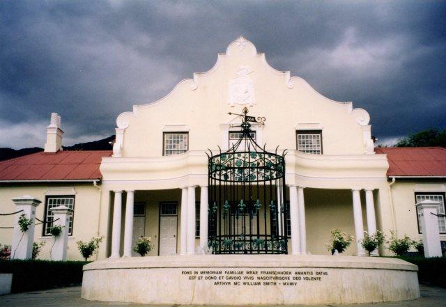 Hugenot Memorial Museum, Franshoek
