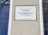 David Bowie Memorial Plaque, Berlin