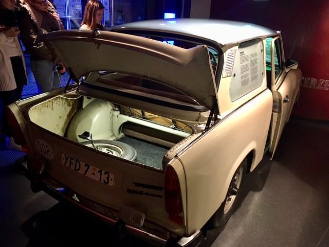 Trabant, DDR Museum, Berlin