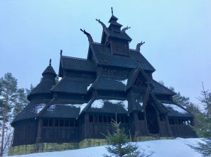 Stave Church, Folklore Museum, Oslo, Norway