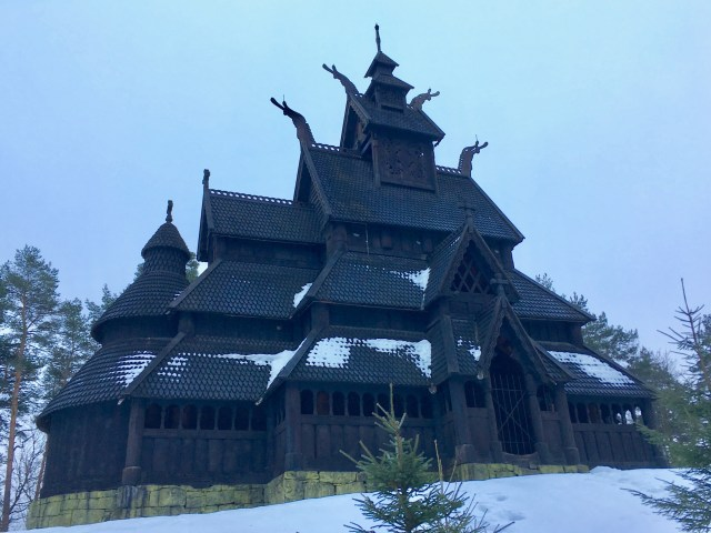 Stave Church, Oslo