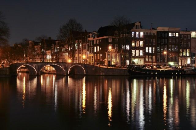 Canal Bridge, Amsterdam