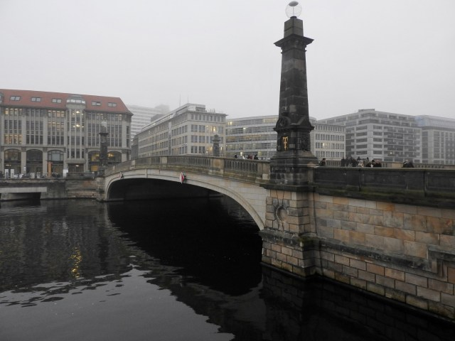 Bridge Over The River Spree, Berlin