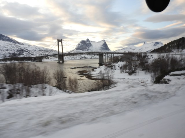 Fauske to Narvik Bus Journey, Norway
