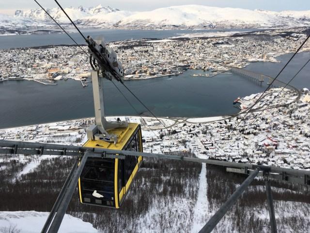 Fjelheisen Tromso Norway
