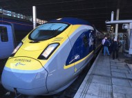 First Ever Scheduled Eurostar from London to Amsterdam