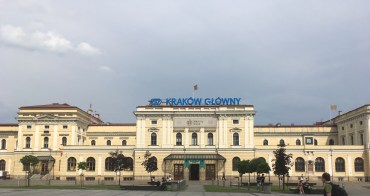 Krakow Train Station, Poland