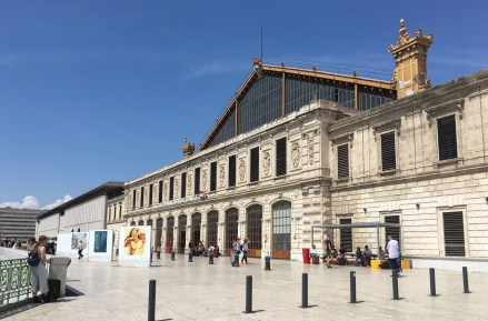 Marseille St Charles Train Station