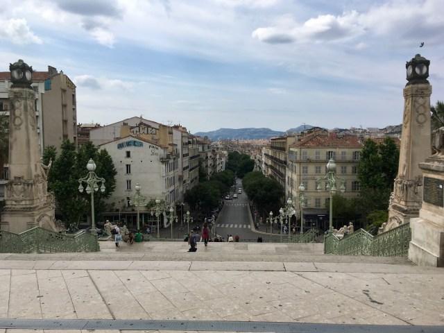 Marseille Station Steps