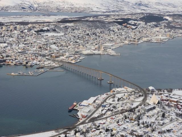 Tromso, Norway. January 2018.