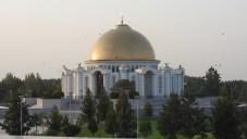 Mosque, Ashgabat, Turkmenistan